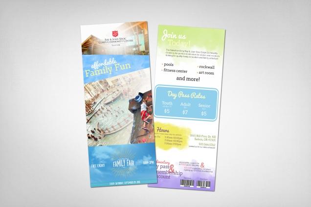 Rack Cards Display